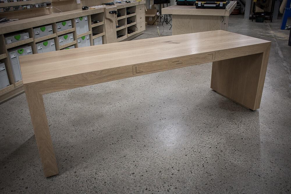 American White Oak Desk