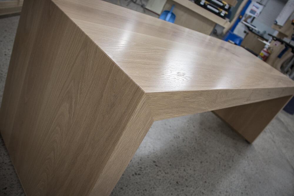 American White Oak Custom Made Desk Sydney